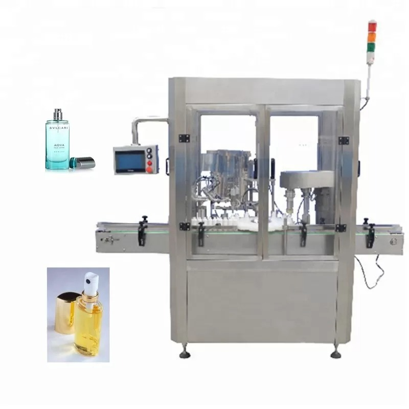 Screw Capping Type Perfume Filling Machine