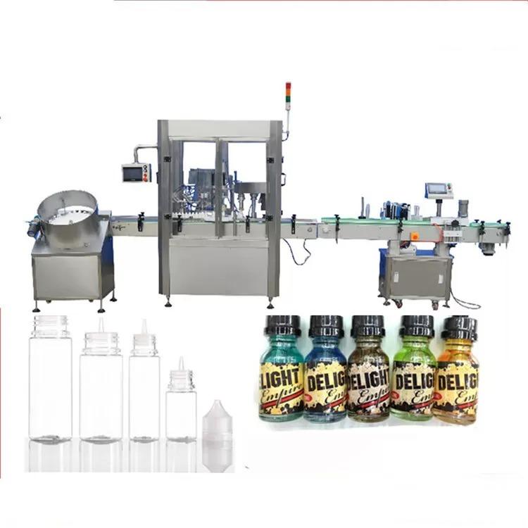 Servo Motor Dropper Bottle Filling Machine