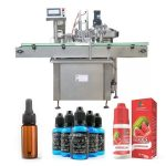 Siemens PLC Control Oil Bottle Filling Machine For Plastic Or Glass Bottle