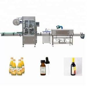 Sleeve Shrinking Bottle Labeling Machine