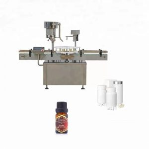 Stainless Steel Bottle Capping Machine Used In Medicine