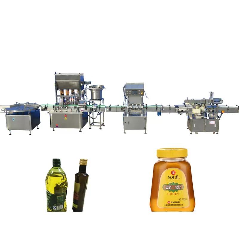 Stepping Motor Edible Oil Filling Machine