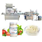 Tomato Sauce Paste Bottle Filling Machine 4 Heads With 316 Stainless Piston