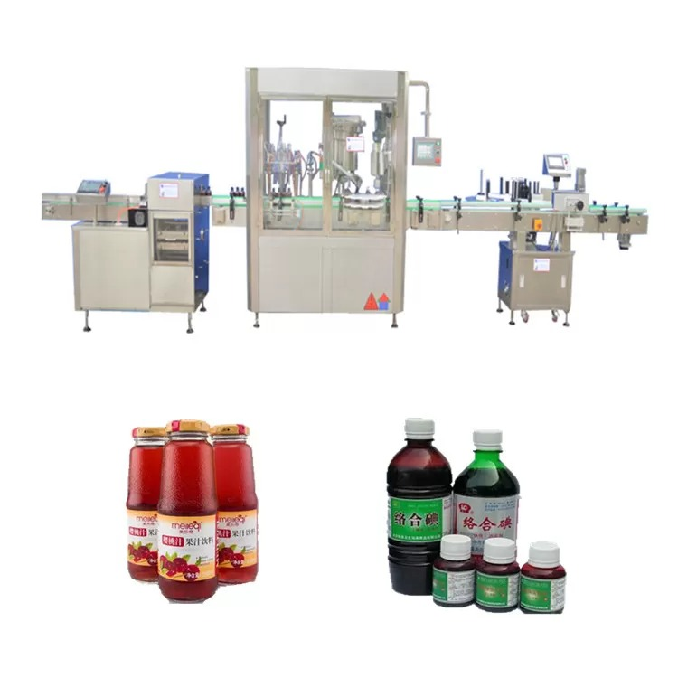 Touch Screen Automatic Liquid Filling Machine 50ml
