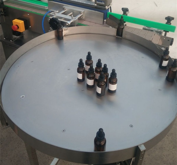 Touch Screen Control Automatic Liquid Filling Machine