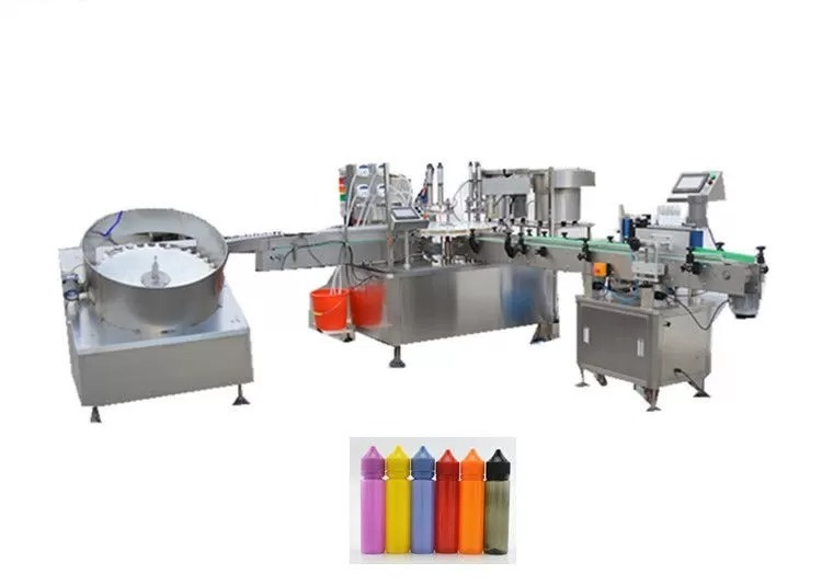 Touch Screen Electronic Liquid Filling Machine For Unicorn