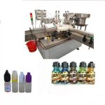 Touch Screen Labeling Machine For Small Bottles , Electric Driven Bottle Labeling Equipment