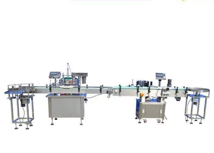 Touch Screen Nail Polish Filling Machine