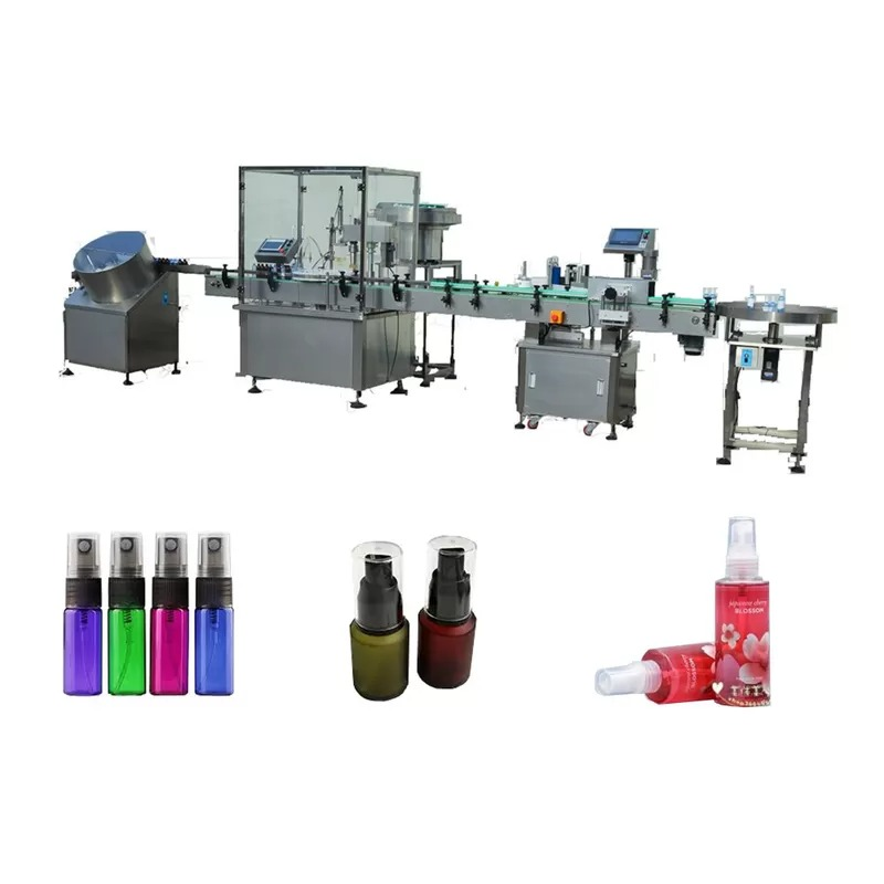 Touch Screen Perfume Filling Machine