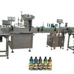Two Heads Fully Automatic Bottle Filling Machines For 30ml Amber Bottles