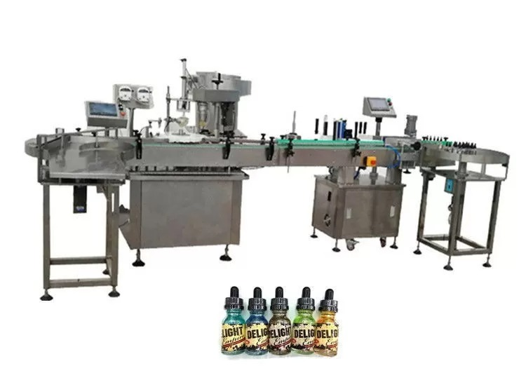 Two Heads Fully Automatic Bottle Filling Machines