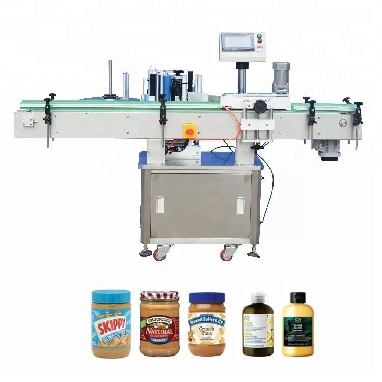 Vertical Self - Adhesive Bottle Labeling Machine For Medicine