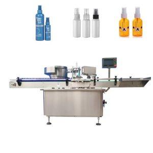 automatic e- cigarette liquid filling capping machine